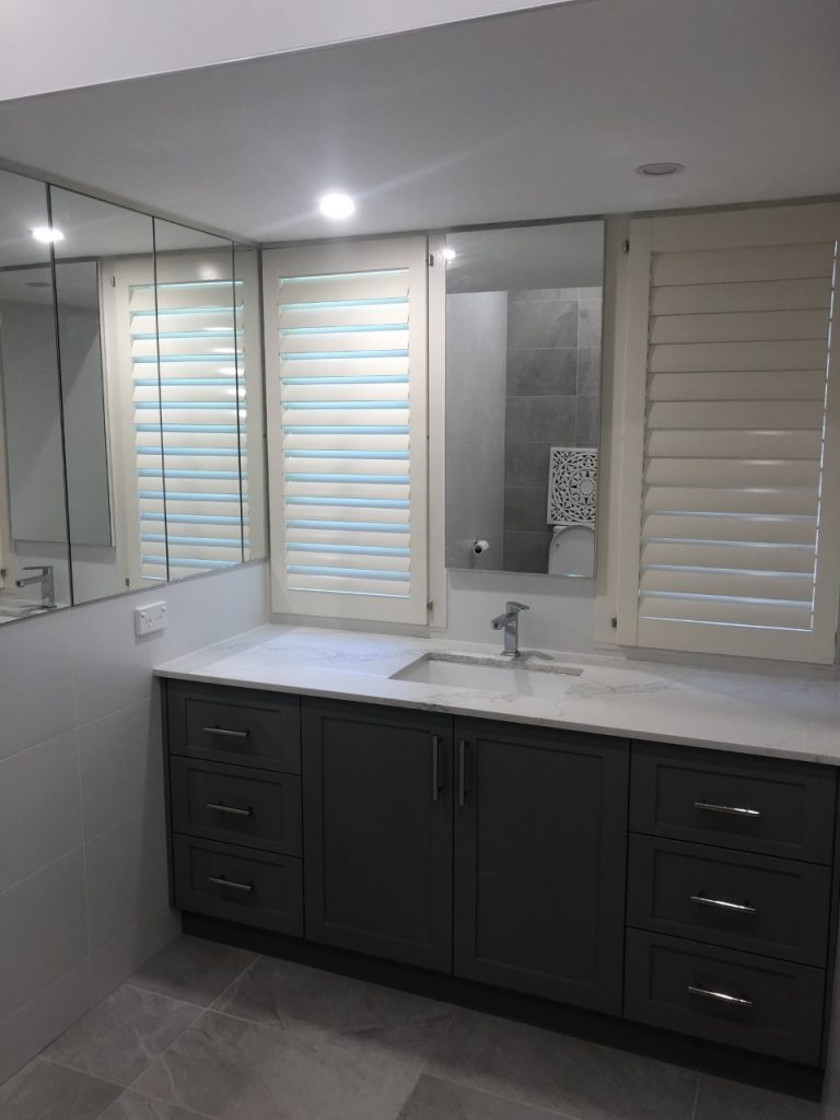 Custom vanity Lindfield from Bathroom Renovation Project