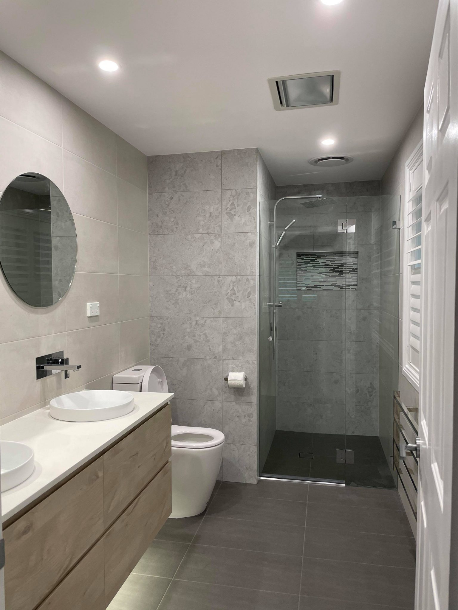 bathroom renovation in castle hill